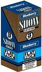 Show Blunt Size 3 Wraps Blueberry Flat Pack