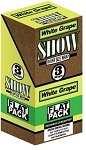 Show Blunt Size 3 Wraps White Grape Flat Pack