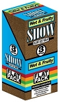 Show Blunt Size 3 Wraps Wet Fruity Flat Pack