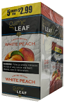 Game Leaf White Peach 5 for $2.99