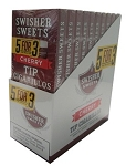 Swisher Sweets Tip Cherry Cigarillo 5for3