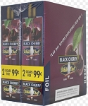 White Owl Cigarillos Foil Fresh Black Cherry Pre-Priced