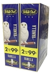 White Owl Cigarillos Foil Fresh Vanilla Pre-Priced
