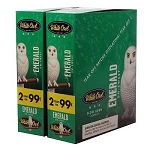 White Owl Cigarillos Foil Fresh Emerald Pre-Priced