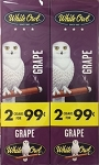White Owl Cigarillos Foil Fresh Grape Pre-Priced