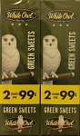 White Owl Cigarillos Foil Fresh Green Sweet  Pre-Priced