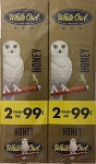 White Owl Cigarillos Foil Fresh Honey Pre-Priced