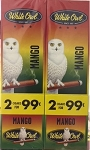 White Owl Cigarillos Foil Fresh Mango Pre-Priced