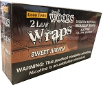 Good Times Sweet Wood 2 Leaf Wrap Sweet Aroma