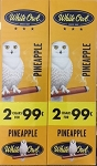 White Owl Cigarillos Foil Fresh Pineapple Pre-Priced
