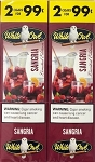 White Owl Cigarillos Foil Sangria 2 for 99