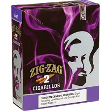 Zig Zag Cigarillos Grape 15/3 $0.99 Pre-Priced
