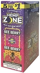 Hemp Zone Bee Berry Wraps 5for$1
