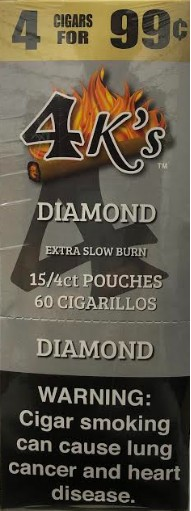 4 Kings Un-sweet Cigar Pouch