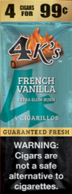Good Times Cigarillos French Vanilla Pouch 4 for 0.99