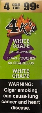 4 Kings White Grape Cigar Pouch