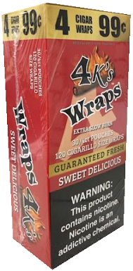 4 Kings Sweet Delicious Wraps Pouch