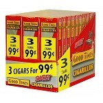 Good Times Cigarillos Sweet 30/3 Packs Pre-Priced