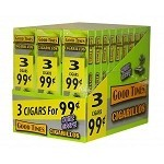 Good Times Cigarillos White Grape 30/3 Packs Pre-Priced
