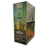 Clipper 4 for $0.99 Cigarillos Green Haze 15/4 Pouch