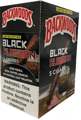 Backwoods Black Russian Cigars 40ct