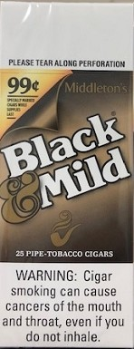Black & Mild Original 99c Cigars Box