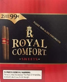 Royal Comfort Sweet Cigarillos