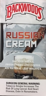 Backwoods Russian Cream Cigars 40ct