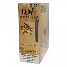 Chief Natural Leaf Honey Berry 2 for 99 Cigars