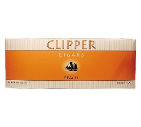 Clipper Filtered Cigars Peach