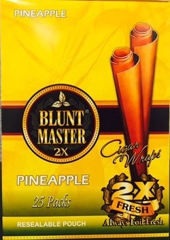 Blunt Master 2X Pineappl Cigars Wraps