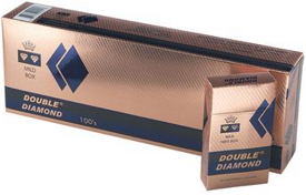 Double Diamond Filtered Cigars Blue 100s