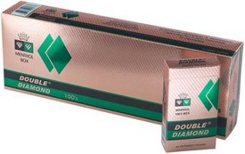 Double Diamond Filtered Cigars Green 100s