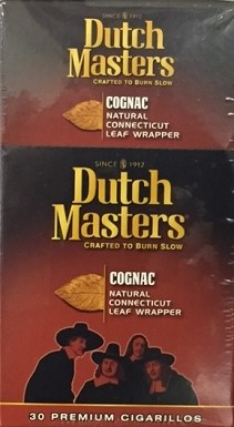 Dutch Master Cigarillos Cognac Box (New Packing)
