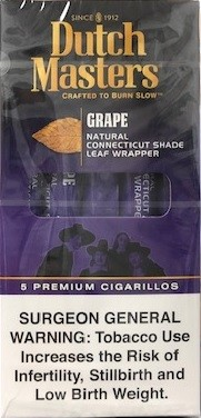 Dutch Master Cigarillos Grape Pack