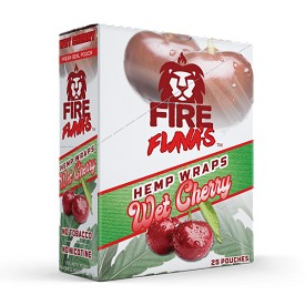 Fire Flava's Hemp Wrap Wet Cherry (compare with High Hemp wraps)