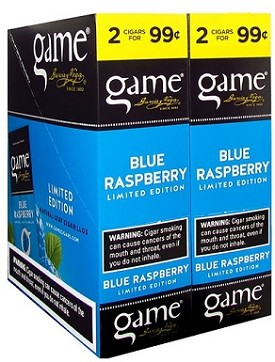 Game Foil Fresh Cigarillos Blue Raspberry 2 for 99