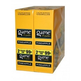 Game FoilFresh Cigarillos Pineapple $0.99 Pre-Priced