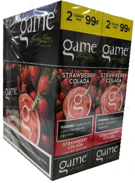 Game Foil Fresh Cigarillos Strawberry Colada 2 for $0.99