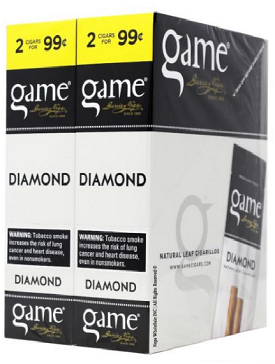 Game FoilFresh Cigarillos Diamond 2 for $0.99 Pre-Priced
