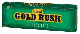 Gold Rush Large Cigars Green