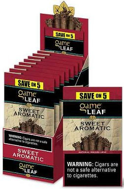 Game Leaf Sweet Aromatic 5 for $2.99