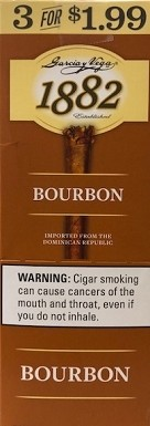Garcia Y Vega 1882 Bourbon Cigars 3 for 1.99