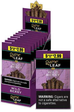 Game Leaf Wild Berry 5 for $2.99