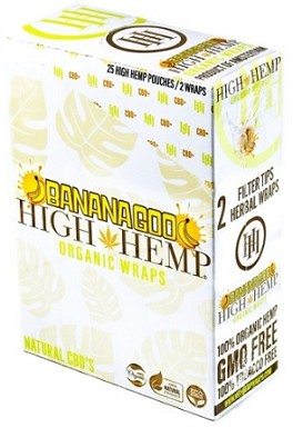 High Hemp Banana Goo Wraps
