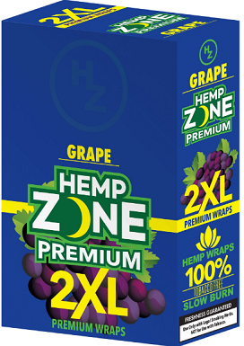 Hemp Zone Premium 2XL Grape Wrap
