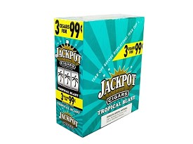 Jackpot Cigarillos Tropical Blast 15/3 3 for $0.99 Pre-Priced