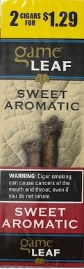 Game Leaf Sweet Aromatic 2 for $1.29