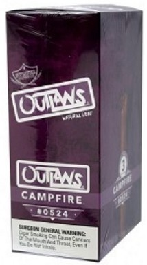 Swisher Sweets Outlaw Campfire Natural Leaf Cigars