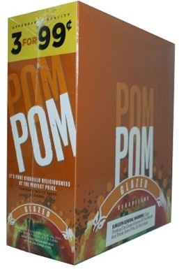 Pom Pom Cigarillos Glazed Pouch 3 for 99